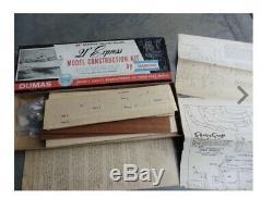 1950s DUMAS 21 Express Chris Craft Wood Boat Model Kit