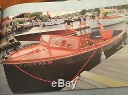 1953 Century Viking Model Wood Boat