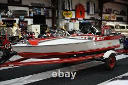 1957 ARISTOCRAFT SEA FLASH With MERCURY MODEL 55 40 HP RESTORED With TRAILER