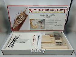 1988 Model Shipways 116 New Bedford Whaleboat Wooden Ship Model Kit No. 2033