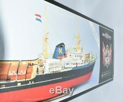 1/90 Billing Boats RC Zwarte Zee NR. 592 Wood Model Ship Building Kit Denmark