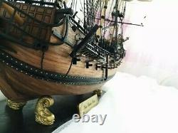 32 Scale Wooden Sailing Boat Model Kit Ship Handmade Assembly Decoration Gift