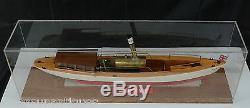 33 1/2 Live Steam Wood Boat Model of the Berwyn