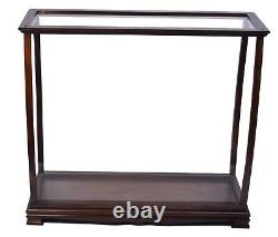 34 Large Tabletop WOOD DISPLAY CASE With Plexiglass For Ship Yacht Boat Models