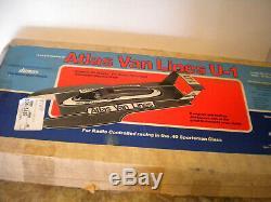 36 Inch Scale Dumas Atlas Van Lines U-1 RC Hydroplane Wood Boat Model Kit #1314