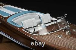 Amati Riva Aquarama Italian Runabout (A1608) 110 Scale Model Boat Kit