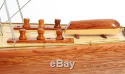 America's Cup 1933 Endeavour J Class Boat 60 Built Wood Model Yacht Assembled