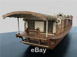 Ancient Chinese/Japaness pleasure boat 150 563mm Wooden model ship kit
