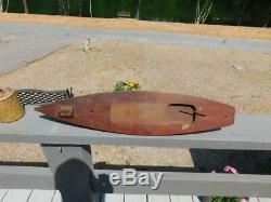 Antique Vintage 24 1930 Jacrim Seaworthy Pup Model 142 Pond Boat Schooner Wood
