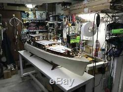 Aphrodite Yacht Scale 1/18 1253mm 50 DIY RC MODEL BOAT Wood model ship kit