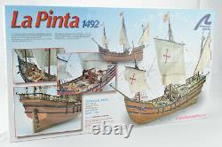 Artesania Latina 1492 La Pinta 165 Wooden Model Boat Ship Kit 22412
