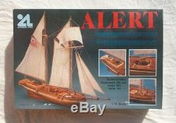 Artesania Latina Alert model sailing ship wood boat US Revenue cutter 170. New