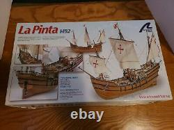 Artesania Latina La Pinta 1492 Wooden Model Ship 22412 In Box