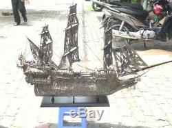 BIG FLYING DUTCHMAN Pirates Ships 1.2m. Wooden Models Boats Collectible Big Gift