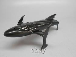 Bat Ski-Boat Batman Returns Desktop Wood Model New Free Shipping Regular