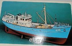 Billings Boats Nordkap Model Ship Kit Wooden Hull English Fishing Trawler