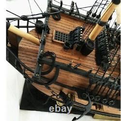 Black Pearl 150 Scale 980mm/38.5 Wooden Model Ship Kit Wood Sailboat DIY Boat