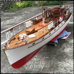 Bluebird of Chelsea Yacht 1320mm Scale 1/12 RC Boat Model Assembly