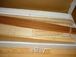 Brand New Model Shipways Miss Adventure Rc Racing Boat Wood Model Kit 1/6 1830