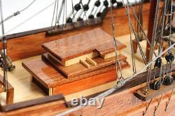 Brig Lady Washington Model Tall Pirate Ship 25 Boat Assembled Sailboat New