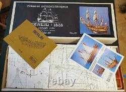COREL BERLIN GERMAN 17th CENTURY FRIGATE 140 SM29 SCALE SHIP MODEL KIT