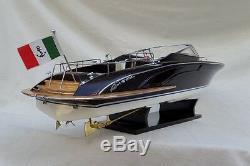 Cedar Wood Riva Rama 26 Quality Wood Model Boat L60 Beautiful Home Decor