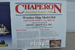 Chaperon Sternwheel Steamer 1884 Model Kit With Extras