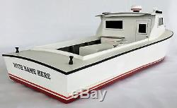 Chesapeake Bay Workboat Model, Fishing and Crabbing Boat, Waterline Model