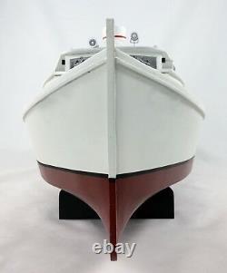 Chesapeake Deadrise Workboat, Hard Top Boat Model, Crabbing, Fishing, Oystering