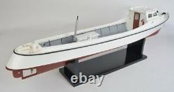 Chesapeake Draketail Workboat Model, Crabbing, Fishing Boat, Wooden Construction