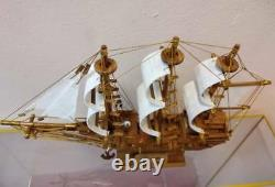 Chinese Junk Clipper 13 Teak Wood Built Model Boat Assembled THAI Hand Craft