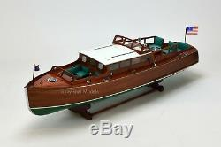 Chris Craft Commuter Handcrafted Wooden Classic Boat Model 34