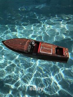 Chris Craft RC model boat Electrified for Immediate On Water Use