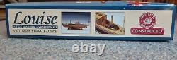 Constructo Wooden Kit Louise Victorian Steam Launch 1/26 boat ship yacht model