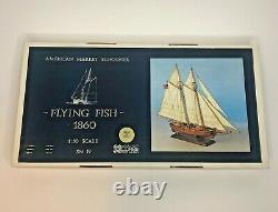 Corel Flying Fish 1860 American Market Schooner 150 Scale Wood Model Kit SM19
