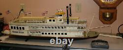 Creole Queen RC controlled River Boat model