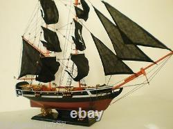Custom Pirate Ship Sailing Vessel Wooden Sailboat Model Boat 30 Brigantine NEW
