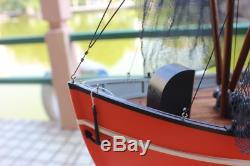 Danish fishing boat RC Model 1/18 610 mm Wooden model ship kit