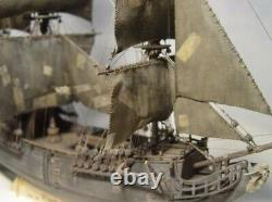 Deluxe Edition 196 Black Pearl Laser Cut Wooden Sail Boat Ship Model Kit
