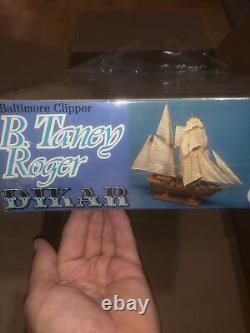Dikar 154 Roger B. Taney Wooden Model Kit New Sealed