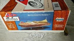 Dumas 27 Chris Craft 1955 Cobra Boat Kit 1/8th Scale Model Wood New Open Box