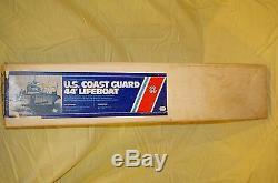 Dumas Boat U. S. Coast Guard 44' Lifeboat #s200 Wooden 33'' Model Kit Vintage