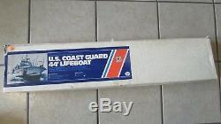 Dumas Boats U. S. Coast Guard 44' Lifeboat Wooden Model Kit Length 33 Long