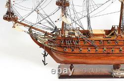 Dutch De Zeven Provincien Wooden Tall Ship Model 36 Boat New