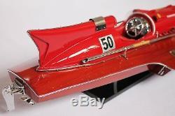 FERRARI WOOD BOAT MODEL 21 (53 cm)