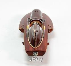 Ferrari Hydroplane 31 Handmade Wooden Racing Boat Model