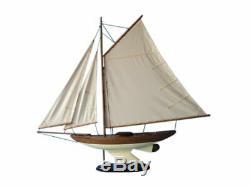Fine Sailing Sloop 40 Beach Decor Model Sailing Boat Sailboat Decor