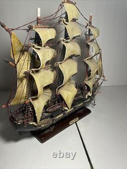 Fragata Espanola Ano 1780 Spanish Naval War Ship Replica Sail Boat Model Wood
