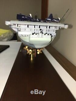 Franklin Mint U. S. S. Yorktown Aircraft Carrier Ship Model CV-10