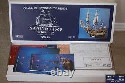 Genuine, brand new Corel wooden model ship kit the Berlin